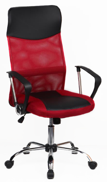 8011-MSC черно-красный
