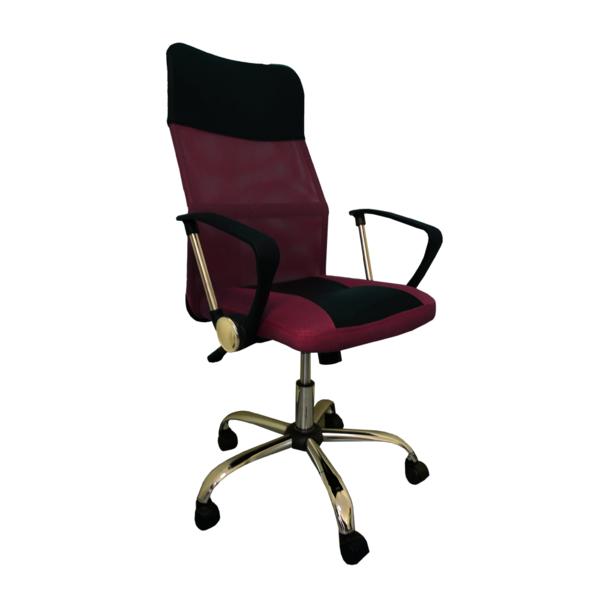 8011-MSC черно-бордовый